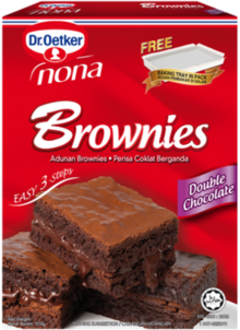 Brownies Double Chocolate