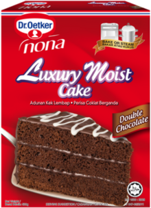 Luxury Moist Cake Double Chocolate