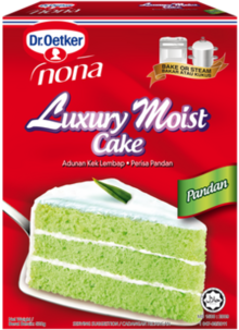 Luxury Moist Cake Pandan