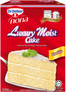 Luxury Moist Cake Vanilla