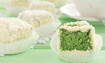 Emerald Cake Cubes