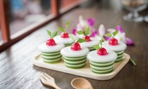 Pandan & Coconut Jelly