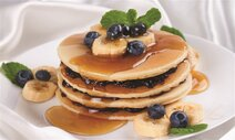Banana Blueberry Pancake
