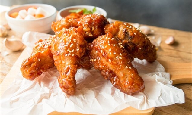 Korean Fried Chicken (Yangneyom Chicken)